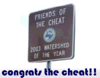 congrats the cheat!