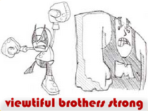 Viewtiful Brothers Strong