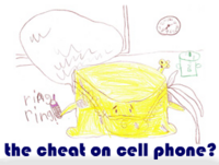 the cheat on cell phone?
