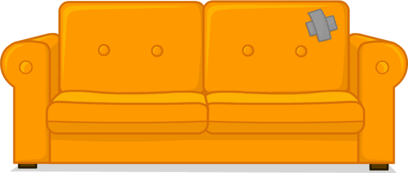 Have a seat on the couch ! Make yourself comfortable!