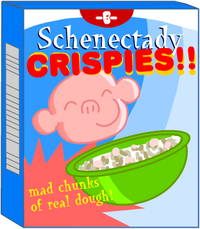 """Schenectady Crispies are so freaking good, they taste twice! Once in your mouth, and once in your esophagus!"""