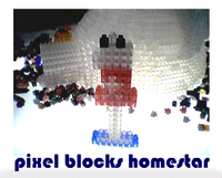 pixel blocks homestar