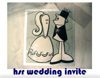 hsr wedding invite