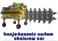 banjo-kazooie custom chainsaw car