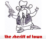 sheriff of town