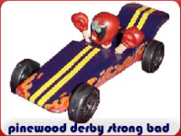 pinewood derby strong bad